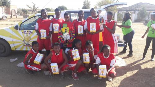 Ladies soccer tournament to commemorate Youth Day, 16 June 2017, hosted by Moutse Community Radio.