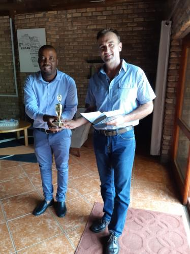Sales Person of the year 2018 – Clement Moagi