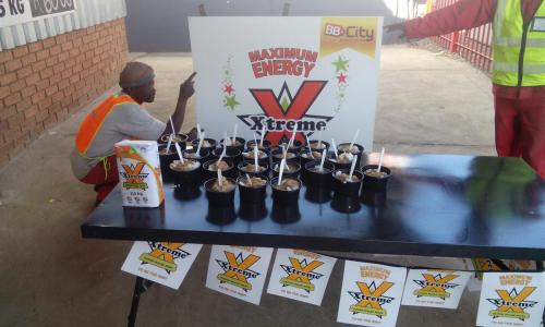 Xtreme cook-up in Louis Trichardt.
