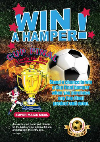 Cup Final poster competition